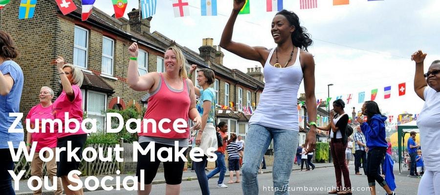 Zumba Dance Workout makes you Social