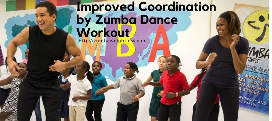 improved coordination with Zumba Dance Workout