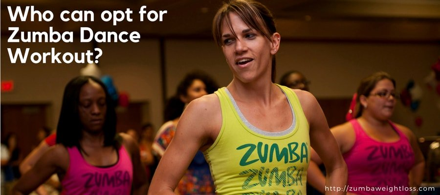 who can opt for zumba dance workout