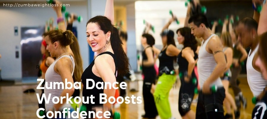 zumba dance workout boosts your confidence