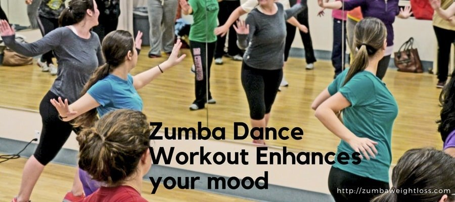 zumba dance workout enhnces your mood