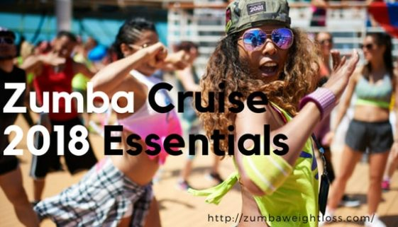 Zumba Cruise 2018 essentials