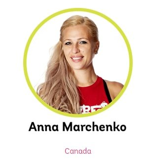 Anna Marchenko - Zumba Cruise 2018 Presenter