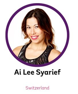 Ai Lee Syareef - Zumba Cruise 2018 Presenter